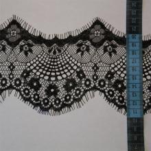 Кружево черное ширина 12 сантиметров купить в Новосибирске
